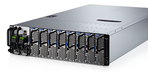 Self-Healing Dell blade servers.